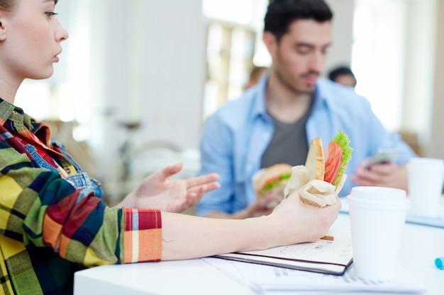 Sandwich essen Kostenlose Fotos