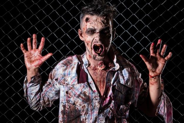 Scary zombie kostüm cosplay Kostenlose Fotos