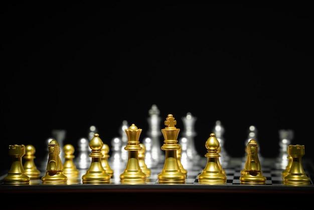 Schachbrettspiel Premium Fotos