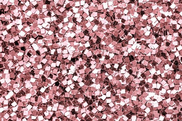 Schließen sie oben vom rosafarbenen paillettehintergrund Kostenlose Fotos