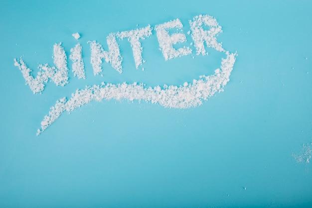 Schneeschriftzüge an bord Kostenlose Fotos