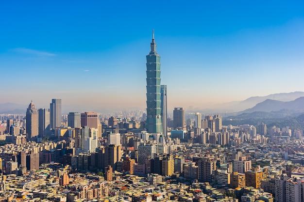 Schöne architektur, die taipeh-stadt errichtet Kostenlose Fotos