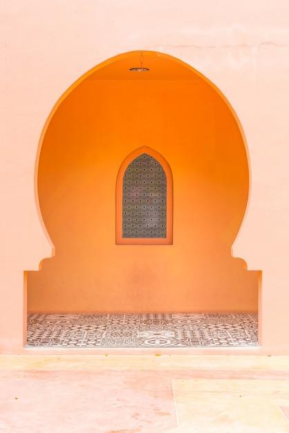 Schöne architektur im marokkanischen stil Premium Fotos