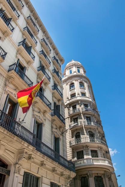 Schöne architektur von barcelona, spanien Premium Fotos