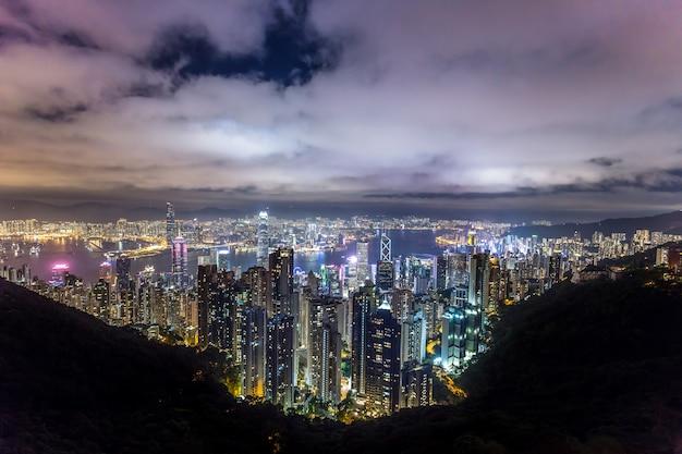 Schöne aussicht auf hong kong Kostenlose Fotos