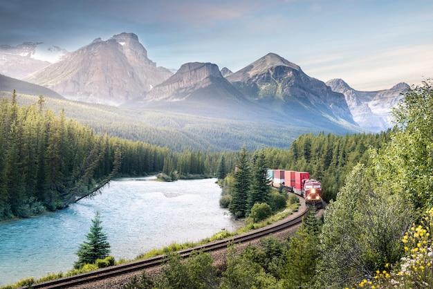 Schöne aussicht in kanada Premium Fotos