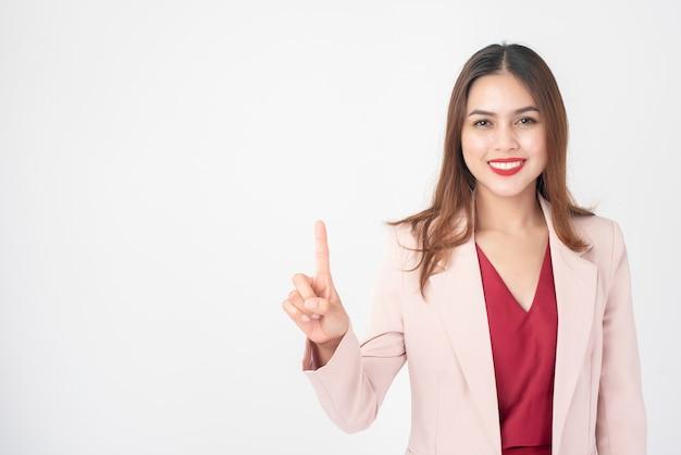 Schöne geschäftsfrau Premium Fotos