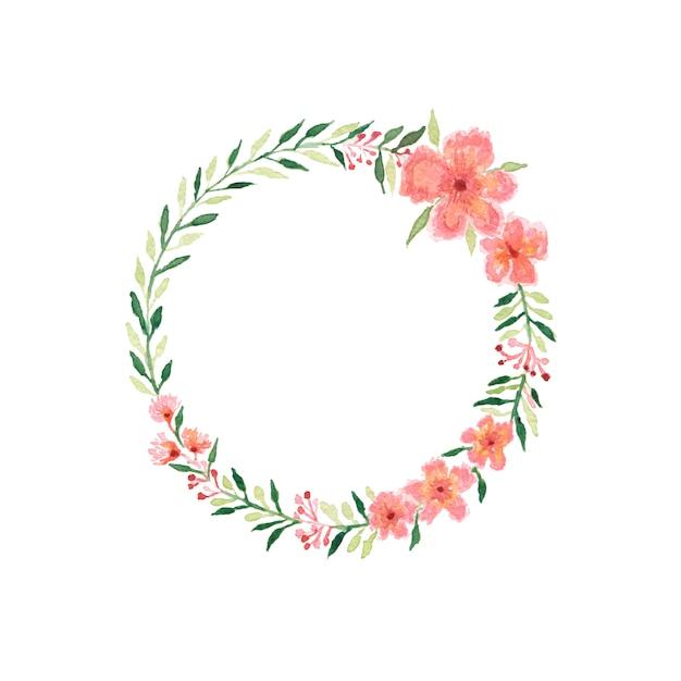 Schöner aquarellhochzeitsblumenstrauß mit blättern und blumen. Premium Fotos