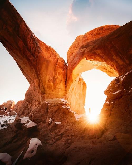 Schöner schuss von grand canyon felsen Kostenlose Fotos
