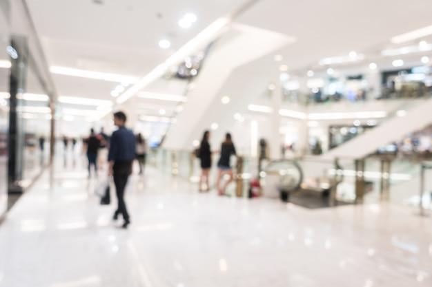 Schönes luxuseinkaufszentrum der abstrakten unschärfe und einzelhandelsspeicher Kostenlose Fotos