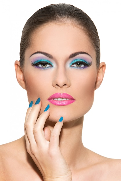 Mädchen Make Up