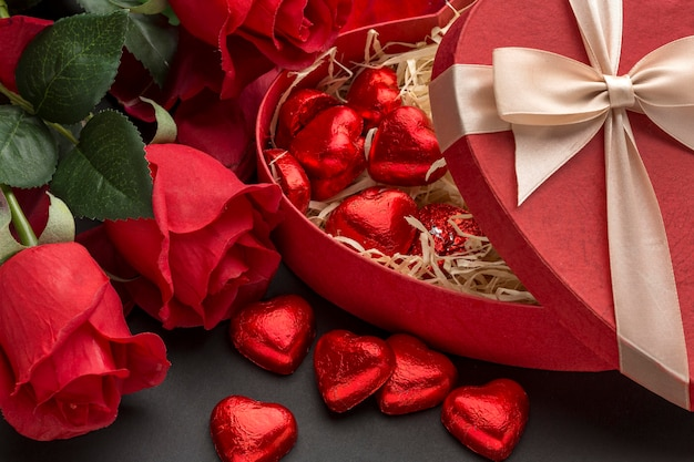 Schönes valentinstagskonzept Kostenlose Fotos