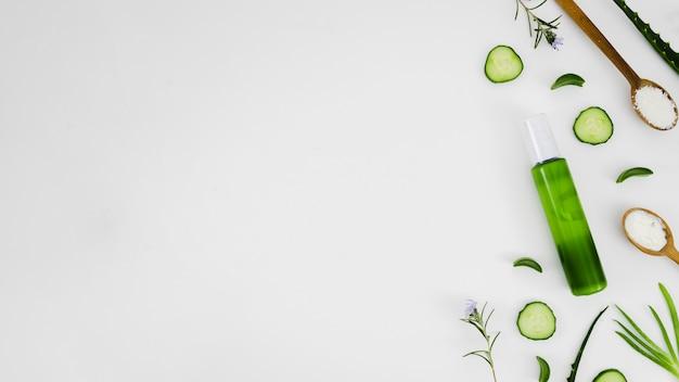 Schönheitscreme mit natürlichen elementen Kostenlose Fotos