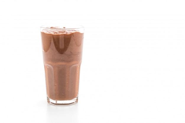 Schokoladen smoothies milchshake Premium Fotos