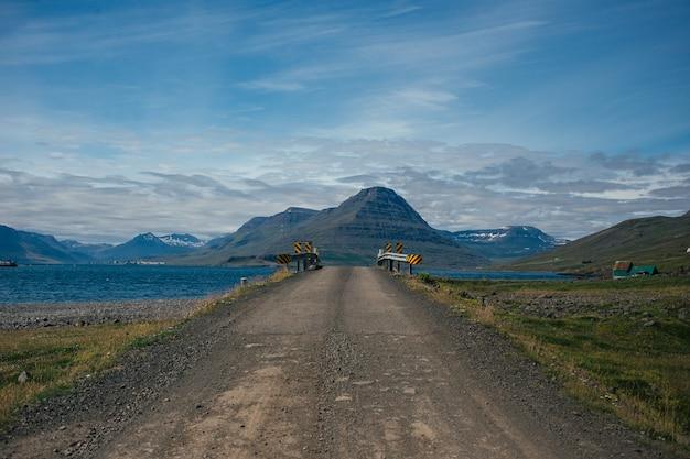 Schotterbergroute von island. Kostenlose Fotos