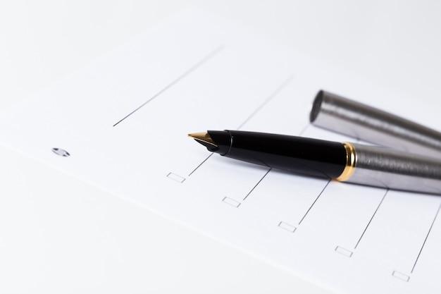 Schreiben, um liste zu tun Premium Fotos
