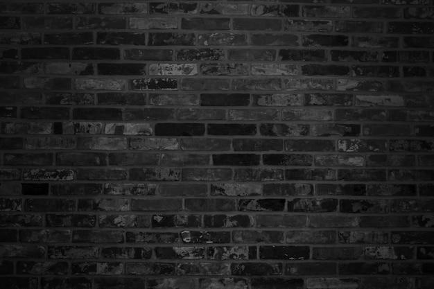 Schwarze backsteinmauer Premium Fotos