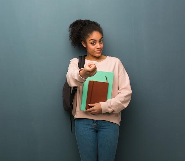 Schwarze Studenten Knallen Die Frau!