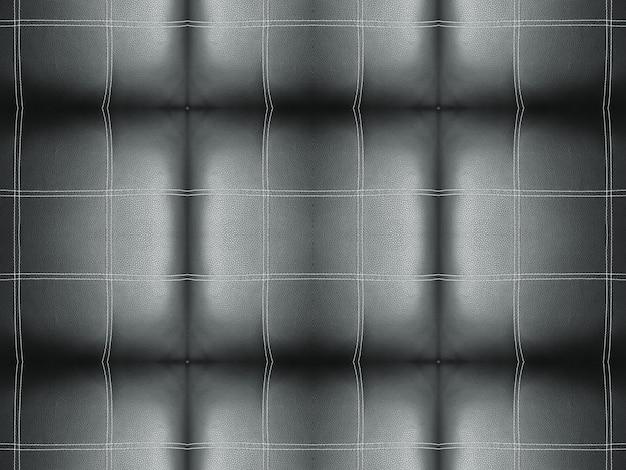 Schwarze linie streifen quadrat fliesenmuster sofa oberfläche Premium Fotos