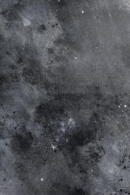 Schwarze textur, rau. dunkler betonboden, alter schmutz. Premium Fotos