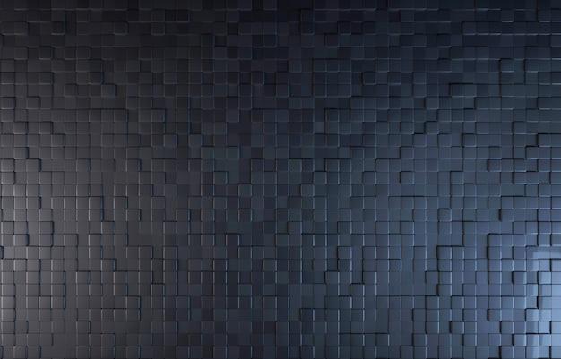 Schwarzer draufsichthintergrund des farbblocks Premium Fotos