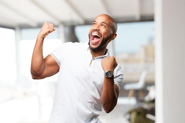 Schwarzer geschäftsmann glücklich ausdruck Kostenlose Fotos