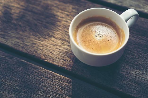Schwarzer Kaffee Für Den Guten Morgen Des Morgens Premium Foto