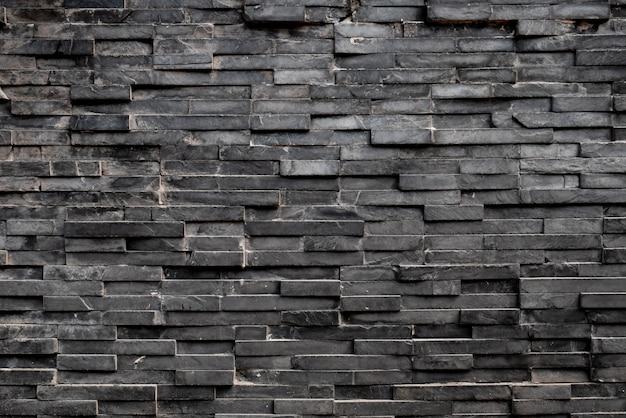 Schwarzer rechteckquadrat-fliesenhintergrund Premium Fotos