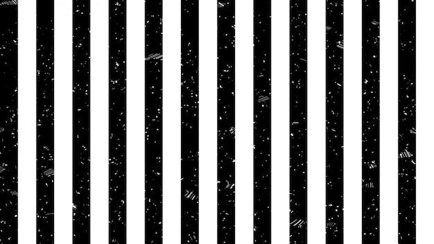 Schwarzweiss-streifenlinie warnzeichenmuster Premium Fotos
