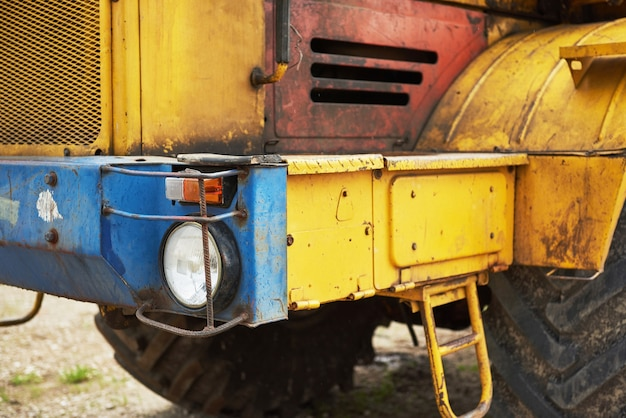 Schwerer baulader bulldozer im baubereich. Kostenlose Fotos