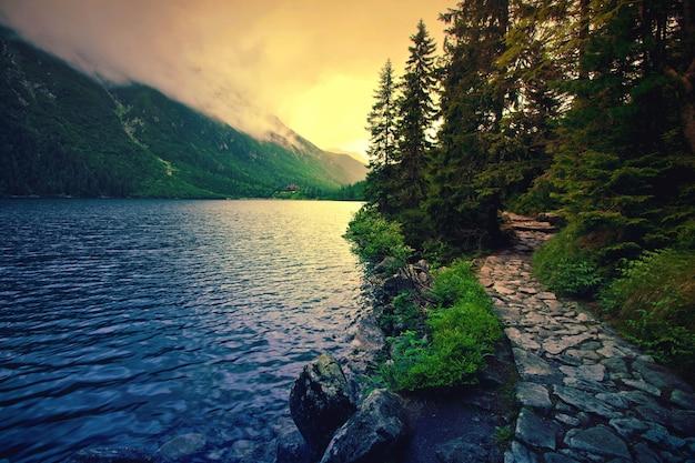 See in den bergen. Kostenlose Fotos