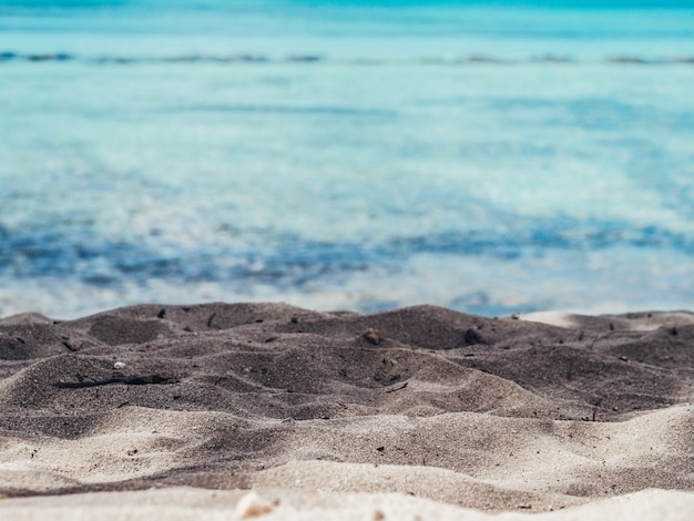 Seeblick. naturreisen hintergrund. Premium Fotos