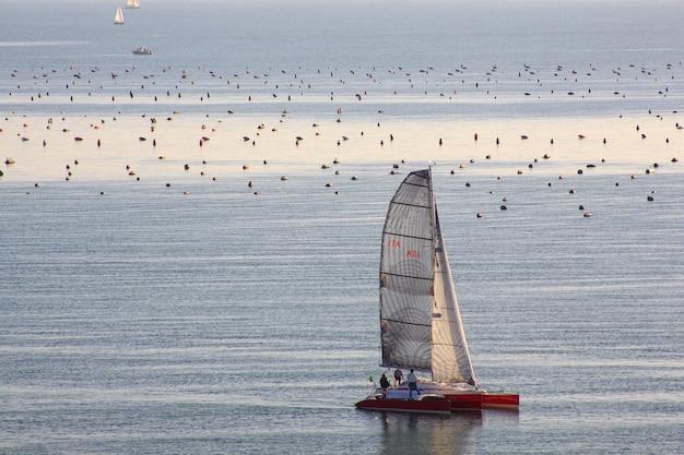 Segelboot Premium Fotos