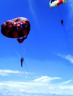 Segelfliegen in den himmel Kostenlose Fotos