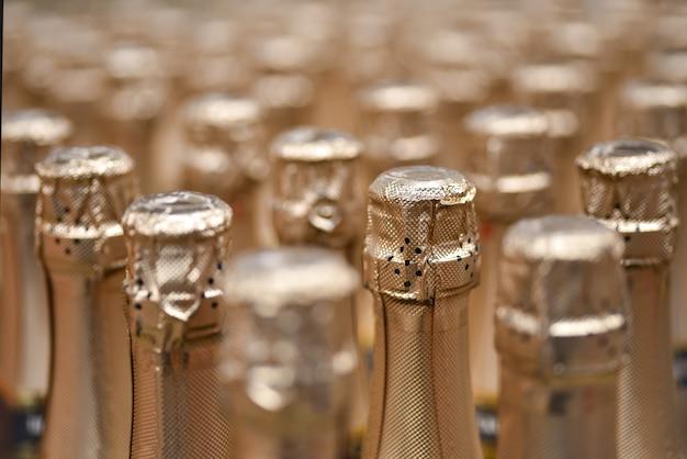 Sektflaschen, weingut, geschäft, urlaub Premium Fotos