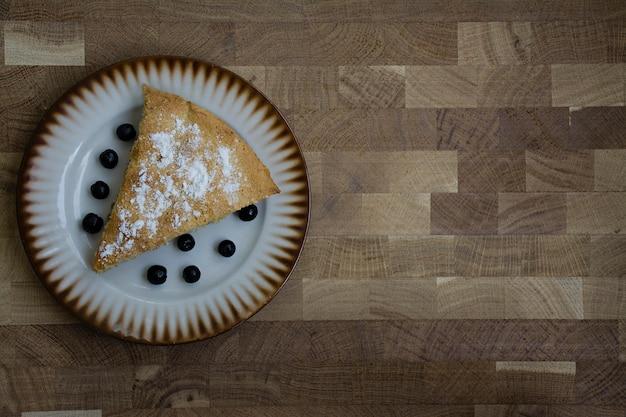 Selbst gemachter organischer apfelkuchen-nachtisch Premium Fotos