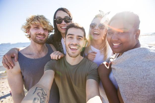 Selfie mit den freunden Kostenlose Fotos