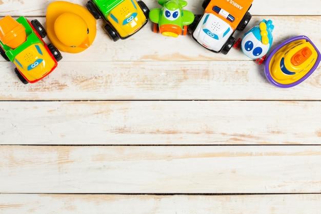 Set kinderspielzeug Premium Fotos