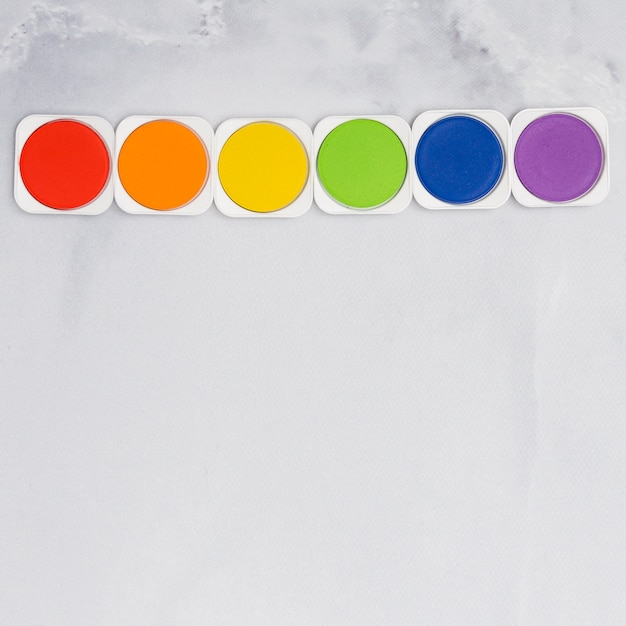 Set regenbogen malt farben lgbt Kostenlose Fotos