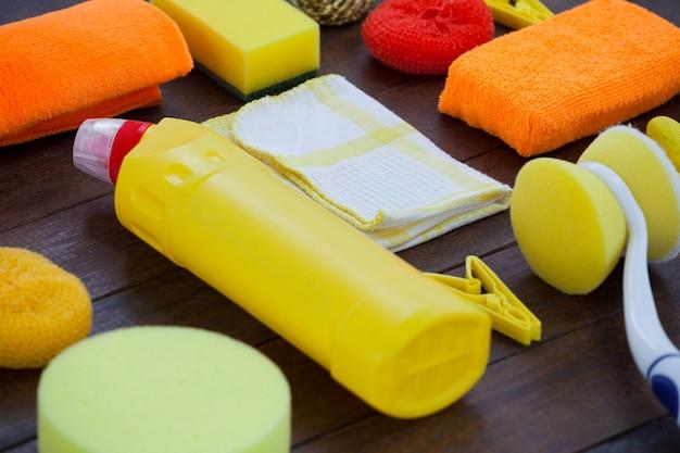 Set reinigungsgeräte Premium Fotos