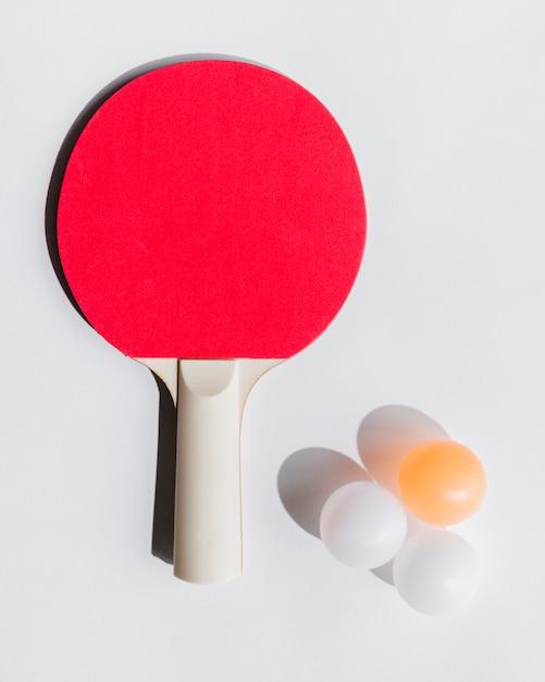 Set tischtennisausrüstung Kostenlose Fotos