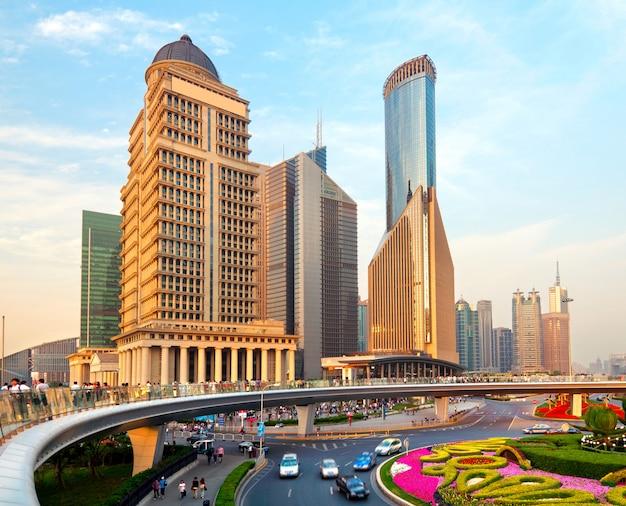 Shanghai lujiazui Premium Fotos