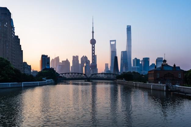 Shanghai skyline Kostenlose Fotos