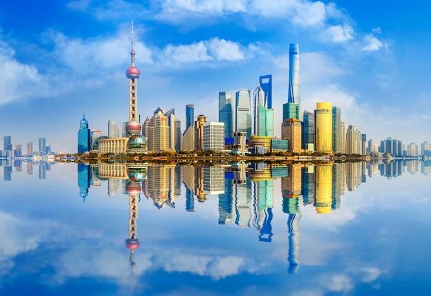 Shanghai wasser modernes wunderschönes panorama waterfront Kostenlose Fotos