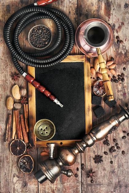 Shisha mit kaffee Premium Fotos