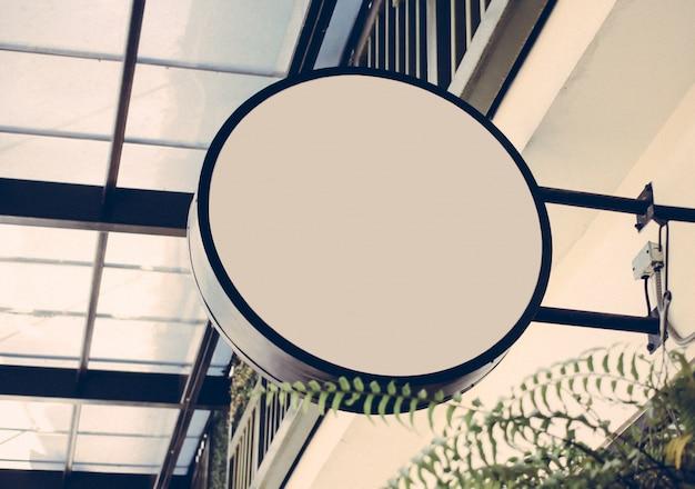 Shop Schild mit Retro-Filter-Effekt Kostenlose Fotos