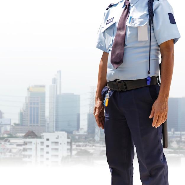 Sicherheitsbeamter Premium Fotos