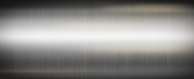 Silber gebürstetes metall Premium Fotos