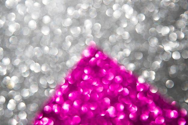 Silberne und rosa abstrakte bokeh lichter Kostenlose Fotos