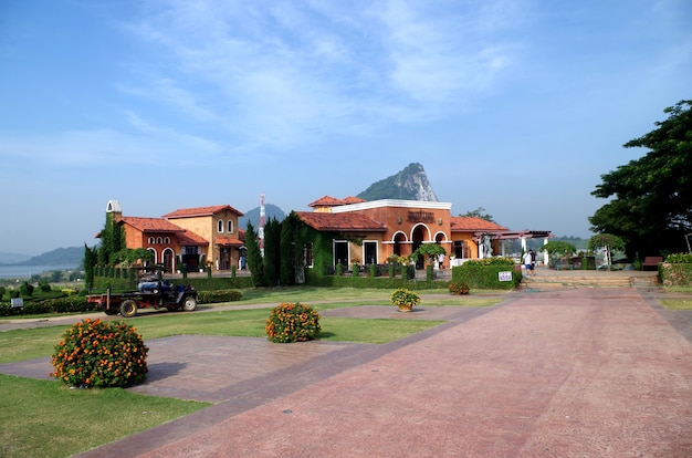 Silberner see thailand Premium Fotos